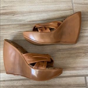 Cathy Jean Wedges sz 6